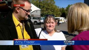 Mother of student at Oregon college during mass shooting 'thankful' son is alive