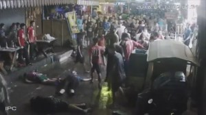Vicious attack on British family vacationing in Thailand caught on CCTV video