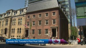 Canada 150:  Toronto's first post office