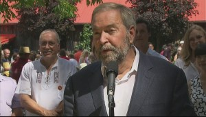 Mulcair rebuts Liberals attacks on their election platform