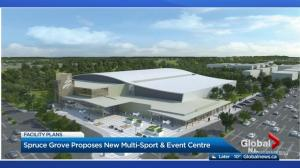 Spruce Grove unveils $79M multi-use sport and event centre renderings