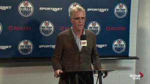 """We're not that far off:"" Oilers G.M. Craig MacTavish"