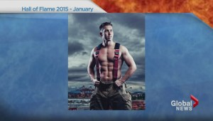 2015 Hall of Flame Vancouver firefighters calendar preview