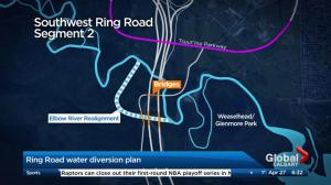 Elbow River changes due to ring road spark concern