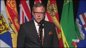 Brad Wall says 'fast-approaching deadline' was his concern regarding refugee intake plan