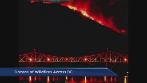 Weather conditions have not helped B.C. wildfire situation
