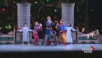 Tory dresses up as a cannon doll in 'The Nutcracker'