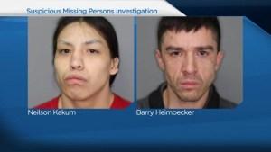 Police searching for 2 missing men near Saskatoon