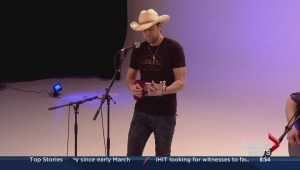 Dean Brody performs on the Morning Show