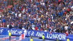 Oasis' song 'Don't Look Back in Anger' plays at England-France soccer match