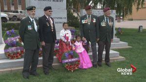 Lethbridge remembers Korean War vets