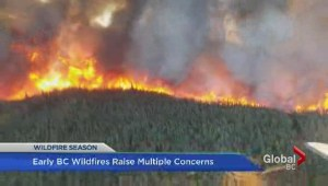Early BC wildfires raise multiple concerns
