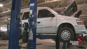 Stolen adapted van found