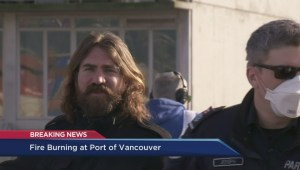 Air pollution expert describes potential exposure concerns from Port of Vancouver fire
