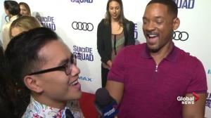 Will Smith talks about his time in Toronto working on 'Suicide Squad'