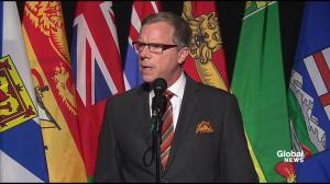 Brad Wall says resulting job losses from climate change initiatives not receiving the attention they deserve