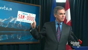 Licence plate redesign cancelled