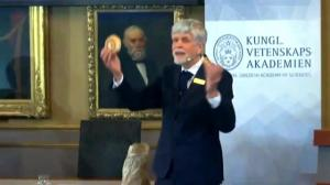 Physicist uses different kinds of pastries to explain the work which won Nobel prize in physics