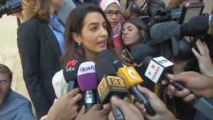 Mohammed Fahmy's defence lawyer Amal Clooney criticizes sentencing