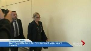 Guy Turcotte's ex-wife testifies