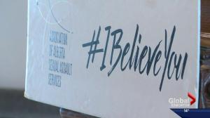 Alberta's #IBelieveYou campaign aims to raise awareness about sexual violence