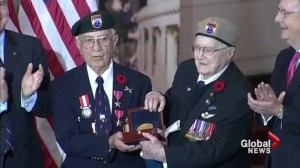 Surviving members of Devil's Brigade honoured