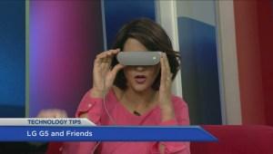Tech: LG virtual reality helmet