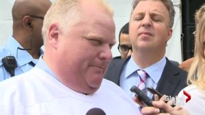 Mayor Rob Ford is admitted to Humber River Hospital after tumour discovered