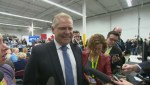 Doug Ford stumps for Harper during campaign event in the GTA