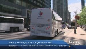 VIA Rail disruptions continue Friday morning