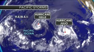 Hawaii prepares for two hurricanes