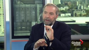 Mission must be UN sanctioned for NDP support: Mulcair