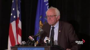 Bernie Sanders outlines his mission statement following DNC speech, Clinton endorsement