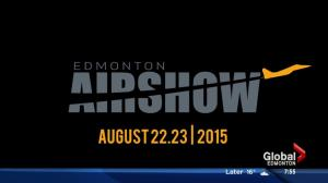 Edmonton Airshow right around the corner