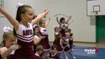 Jumping for joy with Southern Alberta's youngest cheerleaders