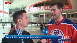 Mayor Iveson on support for Oilers #orangecrush