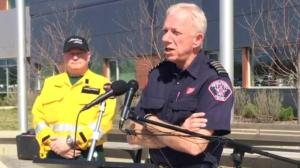 Fire chief calls Fort McMurray conditions 'very, very dry'