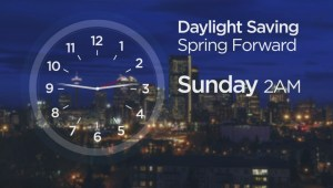 It's Daylight Saving Time