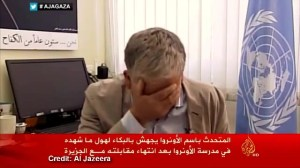 UN official breaks down on TV while discussing Gaza crisis