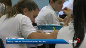 Quebec students get grades rounded up