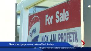 New mortgage rules take effect on Monday