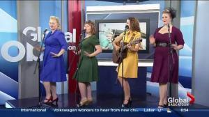 Rosie and the Riveters perform 'Milk 'n Honey'