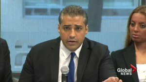 Fahmy speaks about ordeal, preaches freedom of the press at first public appearance
