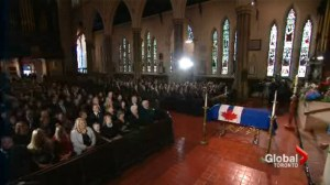 Politicians of all stripes attend Rob Ford's funeral