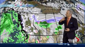 Wednesday morning weather forecast