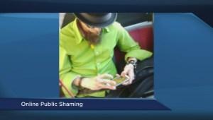 Public shaming on social media