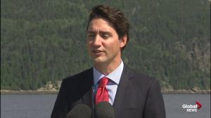 Trudeau: Harper has 'grace,' 'respect' for Canada's democracy