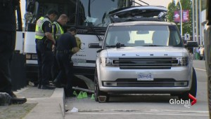 U.S. visitors struck by Vancouver tour bus