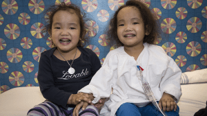 Second twin receives liver transplant from anonymous donor