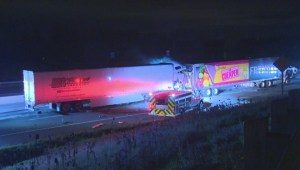 Tractor-trailer crash on Hwy. 401 kills driver
